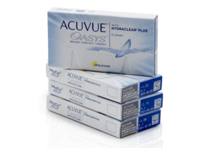 Contact Lense-ACUVUE OASYS WITH HYDRACLEAR PLUS