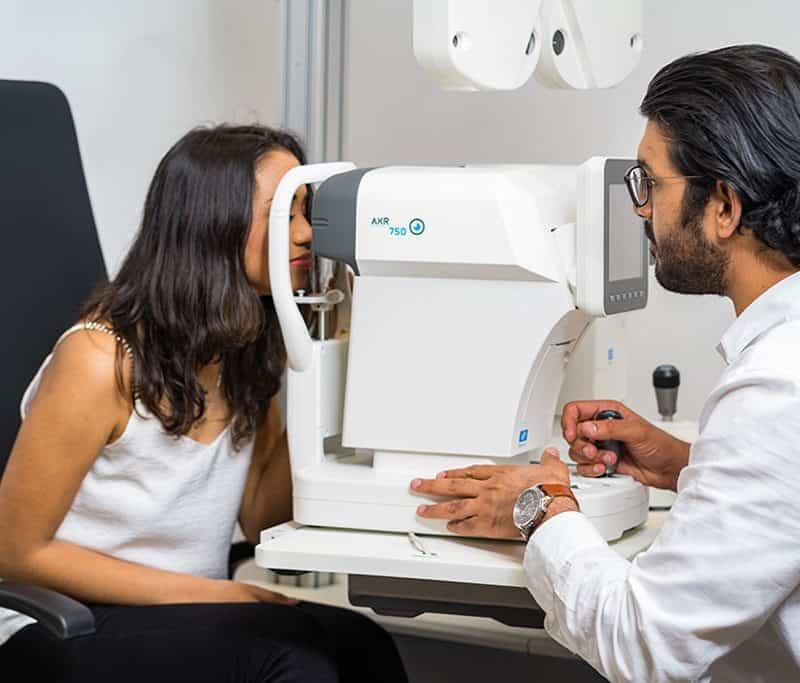 eye exam mauritius